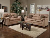 Brand New Simmons Brand Sofa And Love Seat. Plush Soft