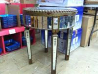 Hi,. I have a New Mirrored side table. This device is