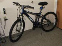 Bike Make: Mongoose Color: Steel Blue (Displayed in