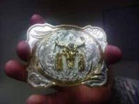i have a brand new silversmiths belt buckle... it is 4""