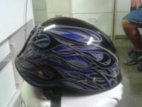 Brand new motorcycle helmet never been worn with free