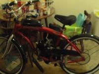 I have a brand new motorized bike with a 80cc engine on