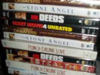 I have movies for sale they are all brand new. I would
