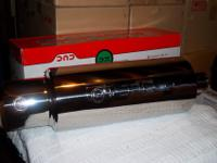 New T-304 Stainless Steel Muffler.Highly Polished and