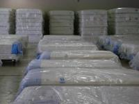 A brand new full size pillowtop mattress set with