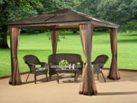 I have a brand new Nevada Aluminum Panel Gazebo for