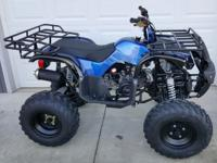 Brand New never ridden ATV. Zero Miles. New with tags.