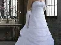 New, never used gorgeous bridal gown. Dimension 14w ...