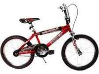 "NEXT Wipe Out Red 20"" Boys' Bike: BRAND NEW."