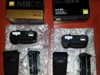 I have 2 brand-new Nikon MB-D15 Electric battery Grips.