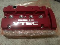 Brand new in box OEM Honda genuine H series JDM red