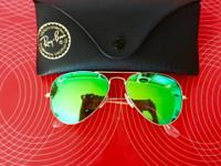 Brand new Ray ban cool green Aviators for sale . Bought