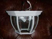 For Sale: One outdoor porch light that was purchased