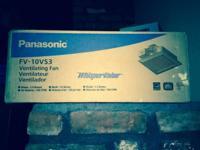 Panasonic (FV-10VS3) Ventilating Fan Brand New (Sealed