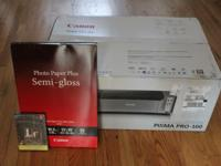 Unopened Pixma Pro-100 Printer (UPC removed from box),