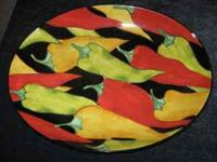 I am selling brand new platter set for $22.00 it has a