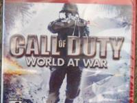 Brand new factory sealed Playstation 3 Call of Duty 4