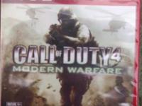 Brand new factory sealed Playstation 3 Call of Duty