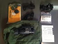 I have a brand new PVS-14 NVG Monocular gadget with IR
