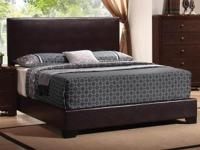 Brand name New Queen Contemporary Bed Only $185! BLACK