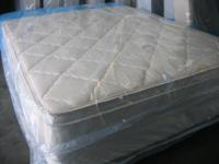 Description **BRAND NEW** QUEEN PILLOW TOP mattress