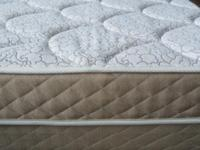 Brand New Queen Size Plush Top Mattress Set Complete
