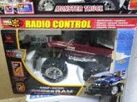 Up for sale are two brand new 1:8 scale monster trucks.