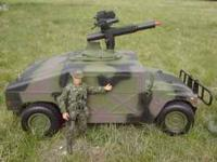 Radio Control Humvee...Huge 1/6 Scale..Great For GI JOE