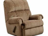 New Tahoe Bark and Burgundy rocker recliners