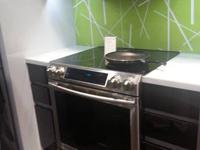Brand New Samsung Electric Stove retail $2399. asking
