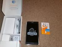 Selling my brand AT&T Samsung Galaxy Note 4 black in