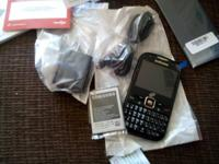 Brand name new samsung trac phone with triple minutes