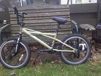 Its an SE bmx light weight bike. It has brand new tires