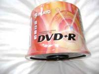 Brand new Playo DVD+R 60 Pack. 4.7gb, 120 min (Standard