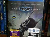 Brand New, Sealed Dark Knight 2 Disc Blu-ray Steelbook