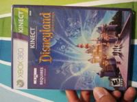 BRAND NEW SEALED XBOX 360 GAMES 1-KINECT DISNEYLAND