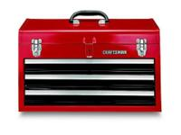 The Craftsman 3-Drawer Portable Chest comes with a