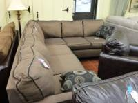 Get this brand new sectional for only 999.00 Sharon's