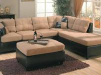Brand New Sectional & Ottoman $599 Still in Box!