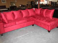 ALL NEW SECTIONALS! AVAILABLE WITH RECLINING CHAIRS!