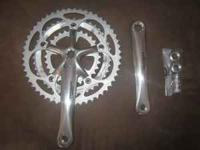 This a brand new never used Shimano Ultegra crank with