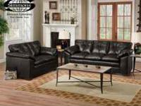 Brand New Bonded Leather Simmons Sofa Sets from only