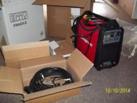 New open box welder. I took it out of the box for the