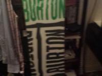 1) Burton bullet board Wide 160 cm. 2) DC Phase Black