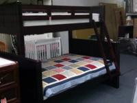 Solid wood bunk beds brand new in box comes in twin