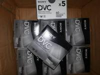 Type: Accessories 30 x Brand New Sony DVC Tapes These