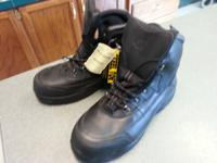 This is a brand new pair of Steel Toe work boots. My