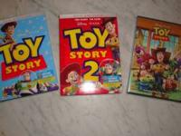 I have for sale 3 DISNEY dvd movies still factory