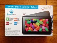 """This is a brand-new SuperSonic 9"""" Android tablet"""