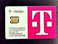 Brand New T-Mobile Nano SIM Card Starter Kit~! - brand